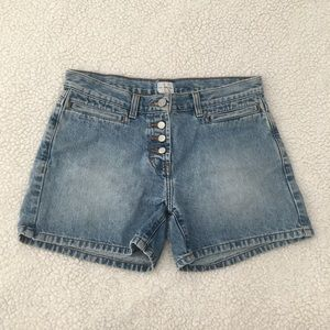 Calvin Klein high waist denim shorts 27 vintage